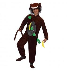 Disfraz de Mono con Plátanos
