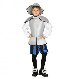 Disfraz de Don Quijote de la Mancha barato para Niño