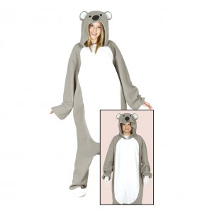 Disfraz de Koala Kigurumi para adulto