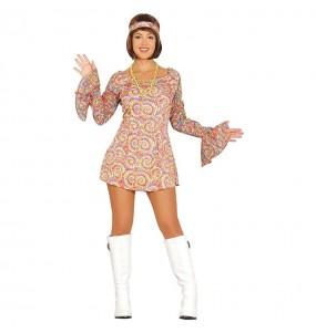 Disfraz de Disco Retro 80´s para mujer
