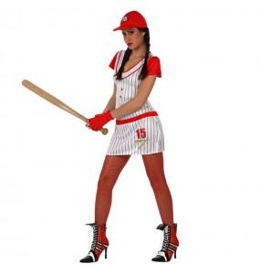 Disfraz de Jugadora de Béisbol
