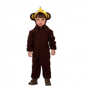 Disfraz de Mono con Plátano infantil