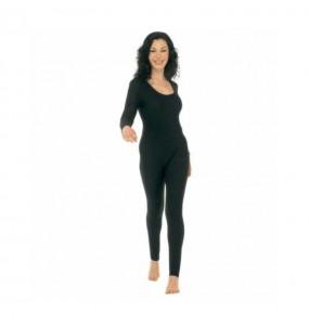 disfraz de maillot negro mujer