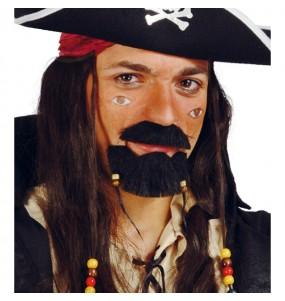 Perilla y bigote Pirata