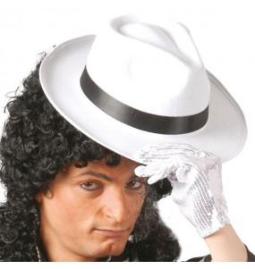 Sombrero de Gánster Blanco