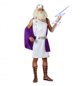 disfraz dios griego adulto
