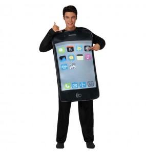 disfraz de teléfono iPhone
