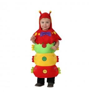 Disfraz bebe gusano