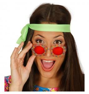 Gafas de Flores Hippie