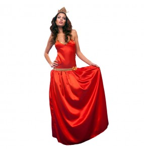 Disfraz de Princesa Roja