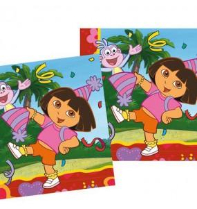 Servilletas de Dora la Exploradora de 33 cm
