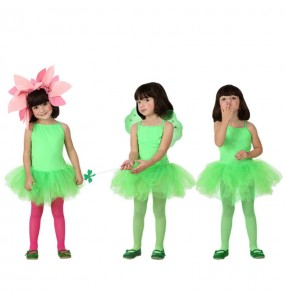 Disfraz de Bailarina Verde