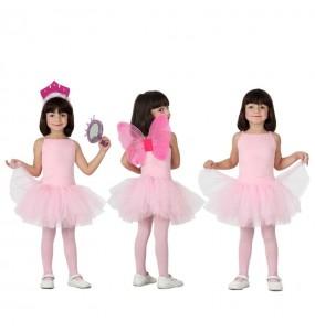 Disfraz de Bailarina Rosa