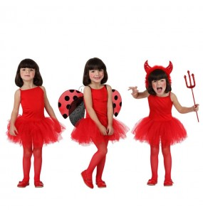 Disfraz de Bailarina Rojo
