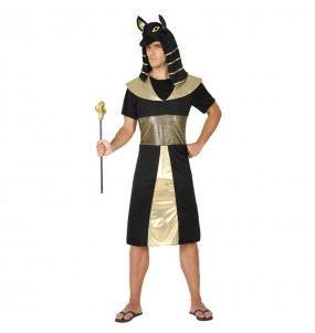 disfraz rey egipcio anubis Nilo adulto