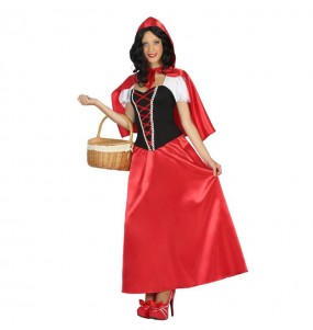 disfraz caperucita roja larga adulto