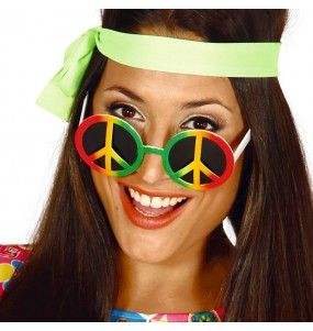 Gafas Hippie peace