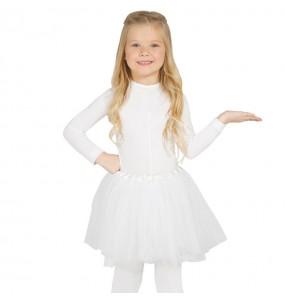 Tutu blanco disfraz