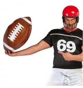 balón hinchable rugby