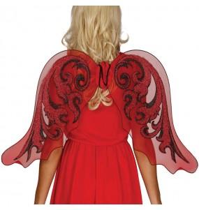 alas rojas mariposa