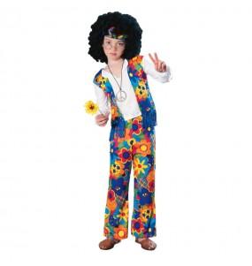 Disfraz de Hippie flor