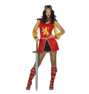 Disfraz de Reina Medieval Sexy