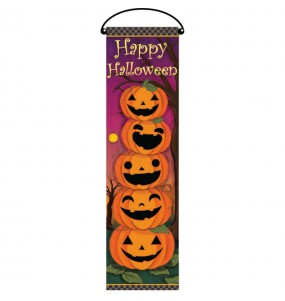 Cartel Happy Halloween decoración