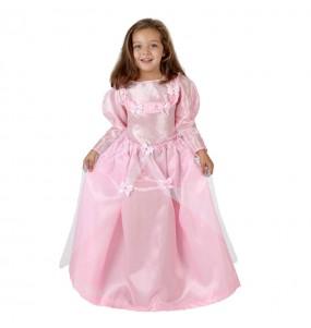 Disfraz de Princesa Rosa para niña