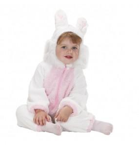 Disfraz de Conejito Blanco bebé