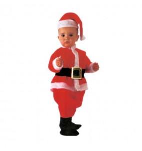 Disfraz de Papá Noel Lujo bebé