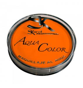 Maquillaje Aquacolor Naranja