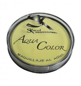 Maquillaje Aquacolor dorado