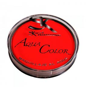Maquillaje Aquacolor Rojo