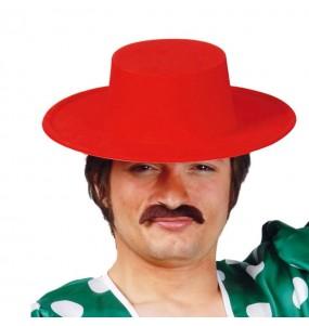 Sombrero de Cordobés rojo