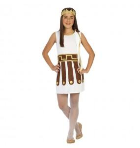 Disfraz de Emperatriz Romana Niña