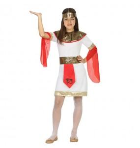 Disfraz de Egipcia Tutankamon Infantil