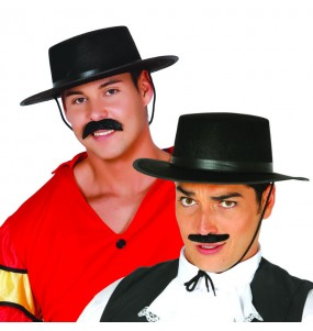 Sombrero de Cordobés fieltro negro