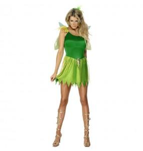 Disfraz de Hada de los Bosques Verde