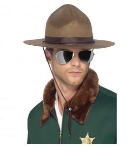 Sombrero de Sheriff del Condado