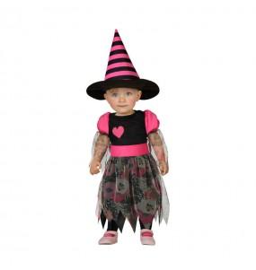 Disfraz de Bruja Corazón bebe