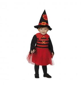 Disfraz de Bruja Roja bebe