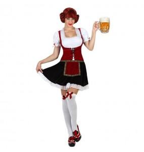 Disfraz de Alemana Oktoberfest cerveza