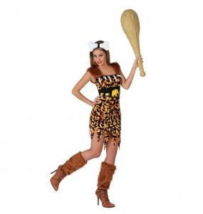 Disfraz de Cavernícola Troglodita Mujer