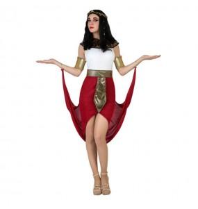 Disfraz Egipcia Capa Roja