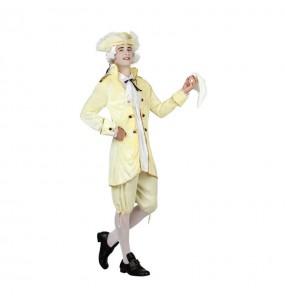 Disfraz de Veneciano Época Amarillo