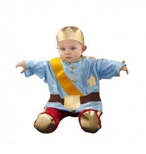 Disfraz de Príncipe Azul bebé