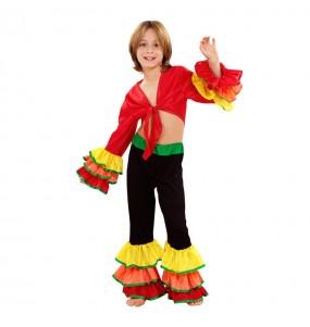 Disfraz de chico Rumbero colorido