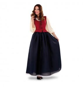 Disfraz de Dulcinea para mujer