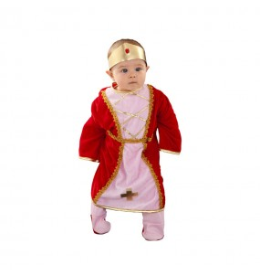 Disfraz de Reina Medieval bebe