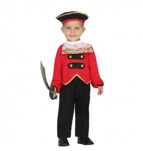 Disfraz de Capitán Garfio Bebé